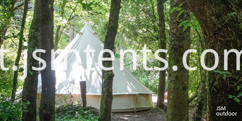 Go Camping with Canvas Bell Tents